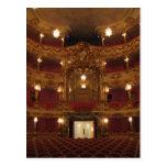 Teatro de Cuvilliers Tarjeta Postal