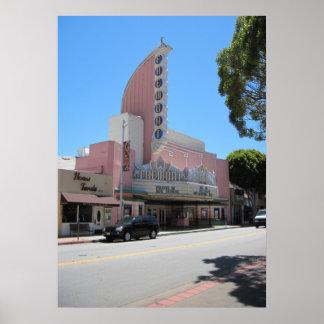 Teatro de Fremont, 2011, San Luis Obispo Póster