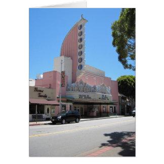 Teatro de Fremont, 2011, San Luis Obispo Felicitación