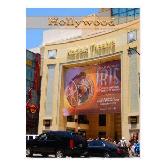Teatro de Hollywood Boulevard Tarjeta Postal
