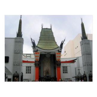 teatro de hollywood tarjetas postales