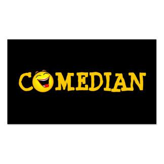 Teatro de la comedia del ejecutante del plantilla de tarjeta personal