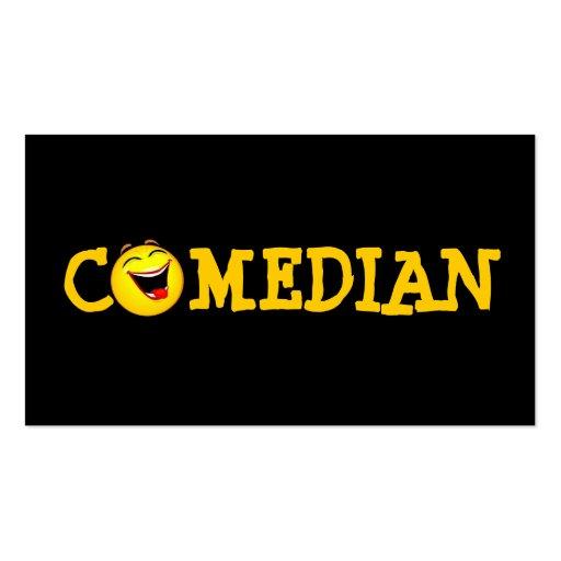 Teatro de la comedia del ejecutante del tarjetas de visita