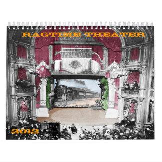 Teatro de la música de ritmo sincopado - calendario