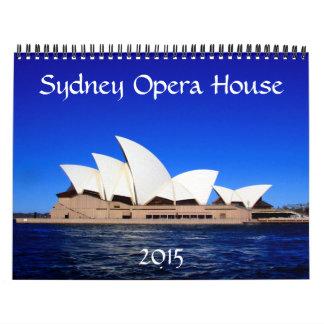 teatro de la ópera 2015 de Sydney Calendarios De Pared