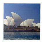Teatro de la ópera Australia de Sydney Azulejo Cuadrado Pequeño