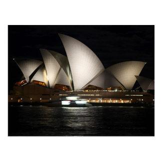Teatro de la ópera Australia de Sydney Tarjeta Postal