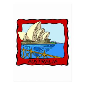 Teatro de la ópera de Australia - de Sydney Postales