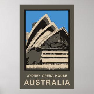 Teatro de la ópera de Australia Sydney Poster