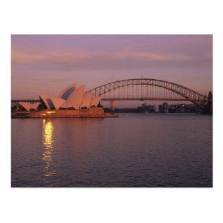 Teatro de la ópera de Australia, Sydney, Sydney co Tarjetas Postales