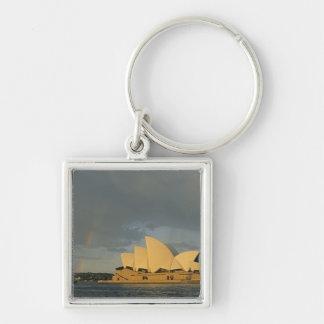 Teatro de la ópera de Australia, Sydney, Sydney, Llavero Cuadrado Plateado