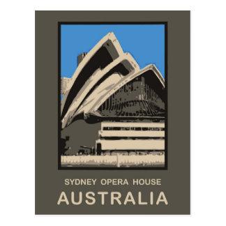 Teatro de la ópera de Australia Sydney Tarjetas Postales