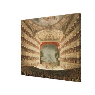 Teatro de la ópera de reyes Theatre Impresiones De Lienzo