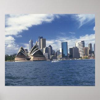 Teatro de la ópera de Sydney Australia Posters