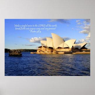 Teatro de la ópera de Sydney Australia Impresiones