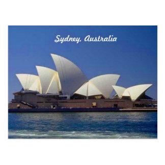 Teatro de la ópera de Sydney Australia Tarjeta Postal