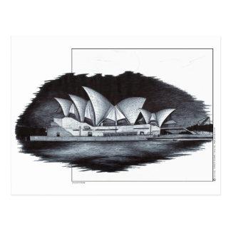 Teatro de la ópera de Sydney (Australia) Tarjetas Postales