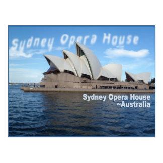 Teatro de la ópera de Sydney - Australia - viaje Postales