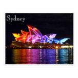 teatro de la ópera de Sydney eléctrico Postal
