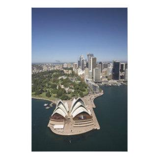 Teatro de la ópera de Sydney, jardines botánicos r Fotografías