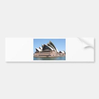 Teatro de la ópera de Sydney, Nuevo Gales del Sur, Etiqueta De Parachoque