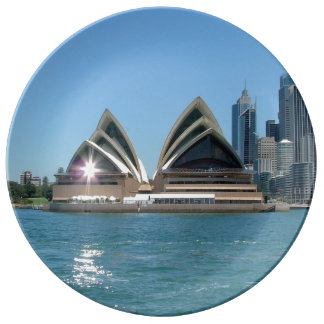 Teatro de la ópera de Sydney Plato De Cerámica