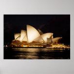 Teatro de la ópera de Sydney Póster