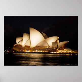 Teatro de la ópera de Sydney Posters