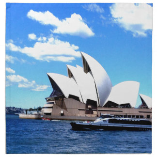 teatro de la ópera de Sydney Servilleta