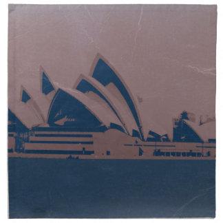 Teatro de la ópera de Sydney Servilletas