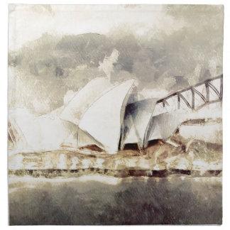 Teatro de la ópera de Sydney Servilletas De Papel