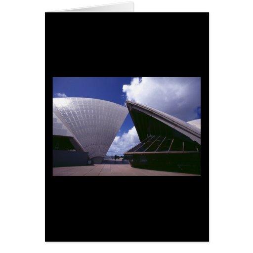 Teatro de la ópera de Sydney Tarjeta De Felicitación