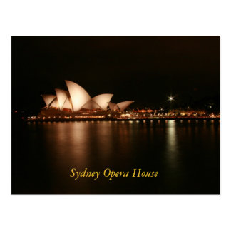 Teatro de la ópera de Sydney Postal