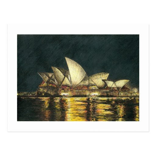 Teatro de la ópera de Sydney Tarjetas Postales