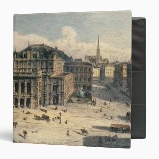 """Teatro de la ópera del estado de Viena, c.1869 Carpeta 1 1/2"""""""