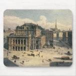 Teatro de la ópera del estado de Viena, c.1869 Alfombrilla De Raton