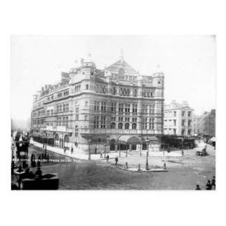 Teatro de la ópera inglés real 1891 tarjetas postales