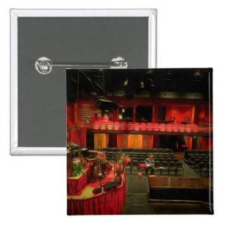Teatro de la ópera interior de Sydney Pin Cuadrada 5 Cm