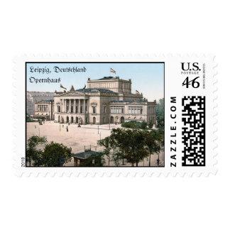 Teatro de la ópera, Leipzig, Alemania