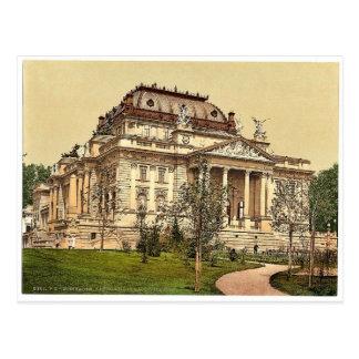 Teatro de la ópera, magn de Wiesbaden, Tarjeta Postal