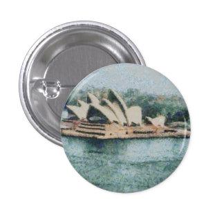 Teatro de la ópera magnífico de Sydney Pin Redondo 2,5 Cm