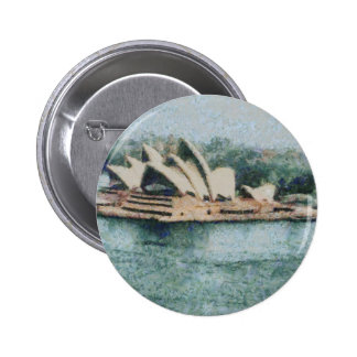 Teatro de la ópera magnífico de Sydney Pin Redondo 5 Cm