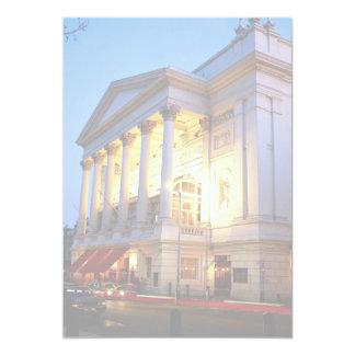 Teatro de la ópera real, jardín de Covent, Invitacion Personal
