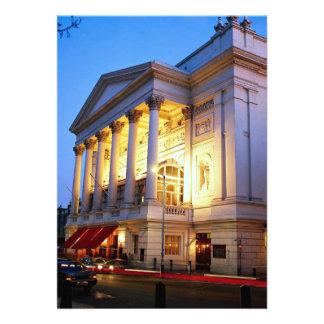 Teatro de la ópera real jardín de Covent Londres Invitación Personalizada