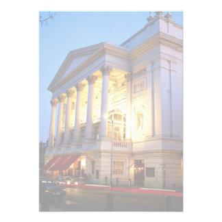 Teatro de la ópera real jardín de Covent Londres Invitacion Personal