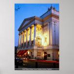 Teatro de la ópera real, jardín de Covent, Londres Posters
