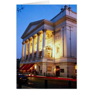 Teatro de la ópera real jardín de Covent Londres Felicitacion