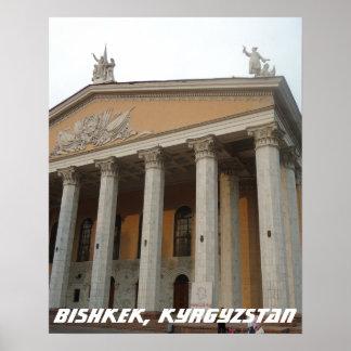 Teatro de la ópera soviético, Bishkek Frunze, Póster
