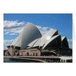 Teatro de la ópera, Sydney Australia Tarjetón