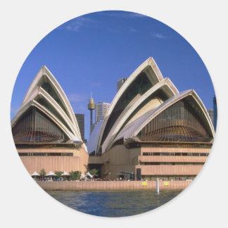 Teatro de la ópera, Sydney, Nuevo Gales del Sur, Pegatina Redonda